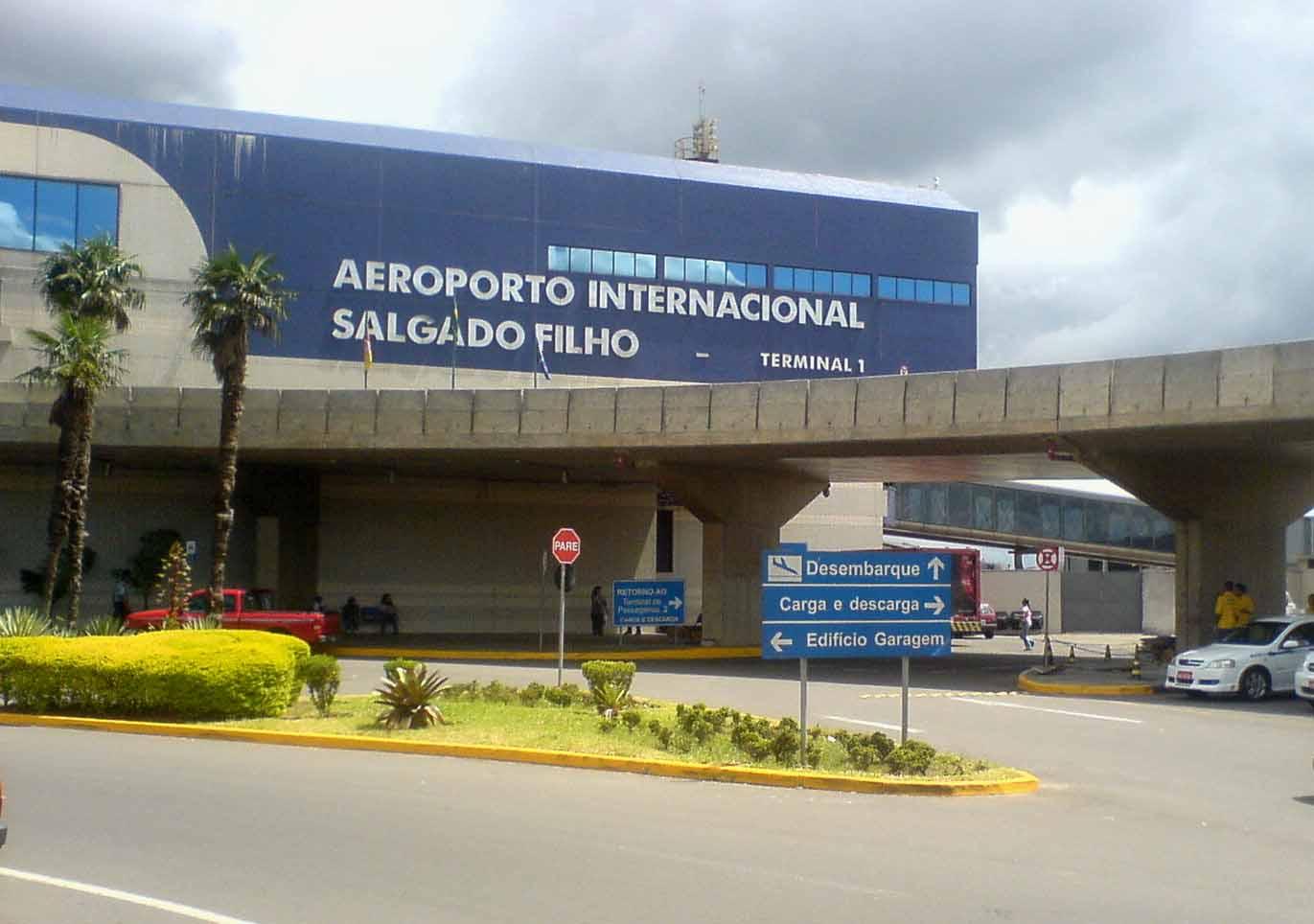 Aeroporto Internacional Salgado Filho Porto Alegre Rs Brasil : Aeroporto internacional salgado filho porto alegre rs